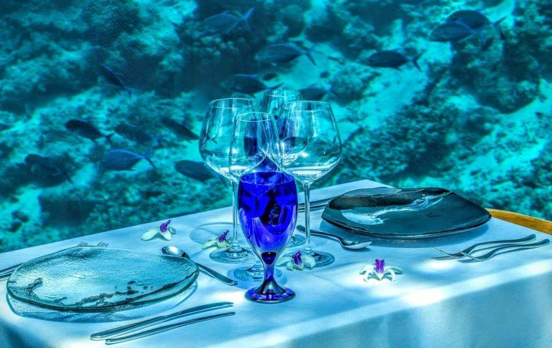 Il ristorante subacqueo alle Maldive  Dissapore