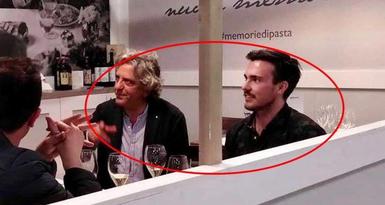 Masterchef 2019 Gilberto con Giorgio Locatelli  il