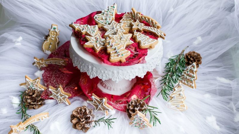 Christmas cookies decorated recipe