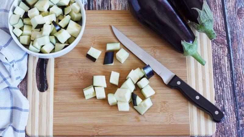 maccheroni alle melanzane taglio