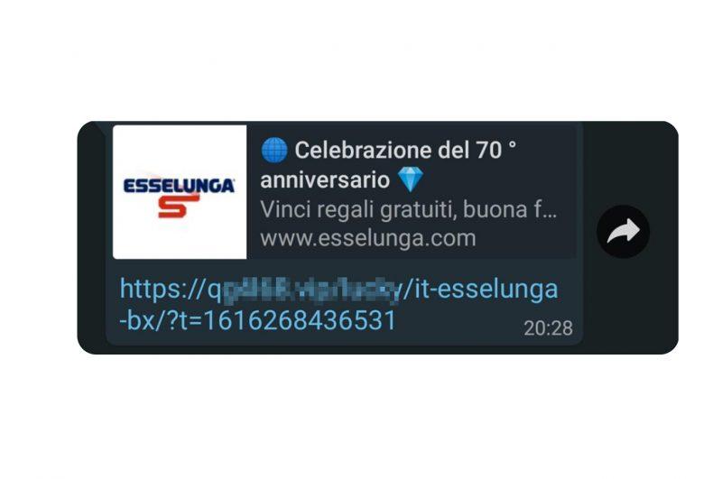 esselunga-truffa-70-anniversario-whatsapp