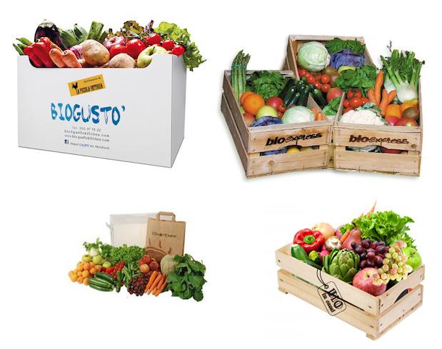 La cassettina frutta e verdura di stagione a domicilio