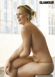 Lizzie Miller nuda sulla rivista americana Glamour