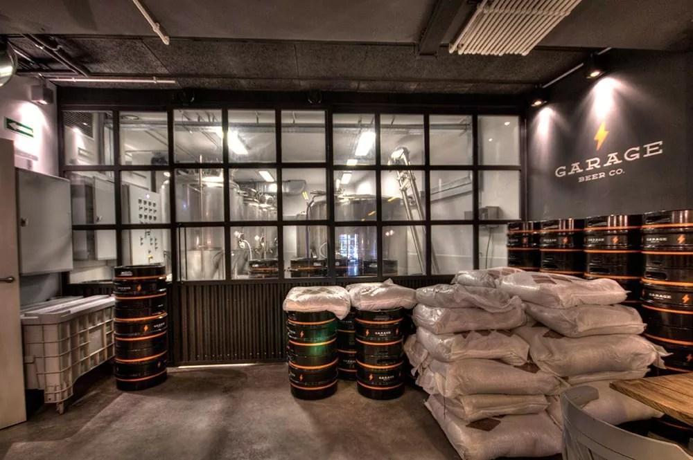 Diseo y Decoracin Bar Cervecera Garage Beer  DA2