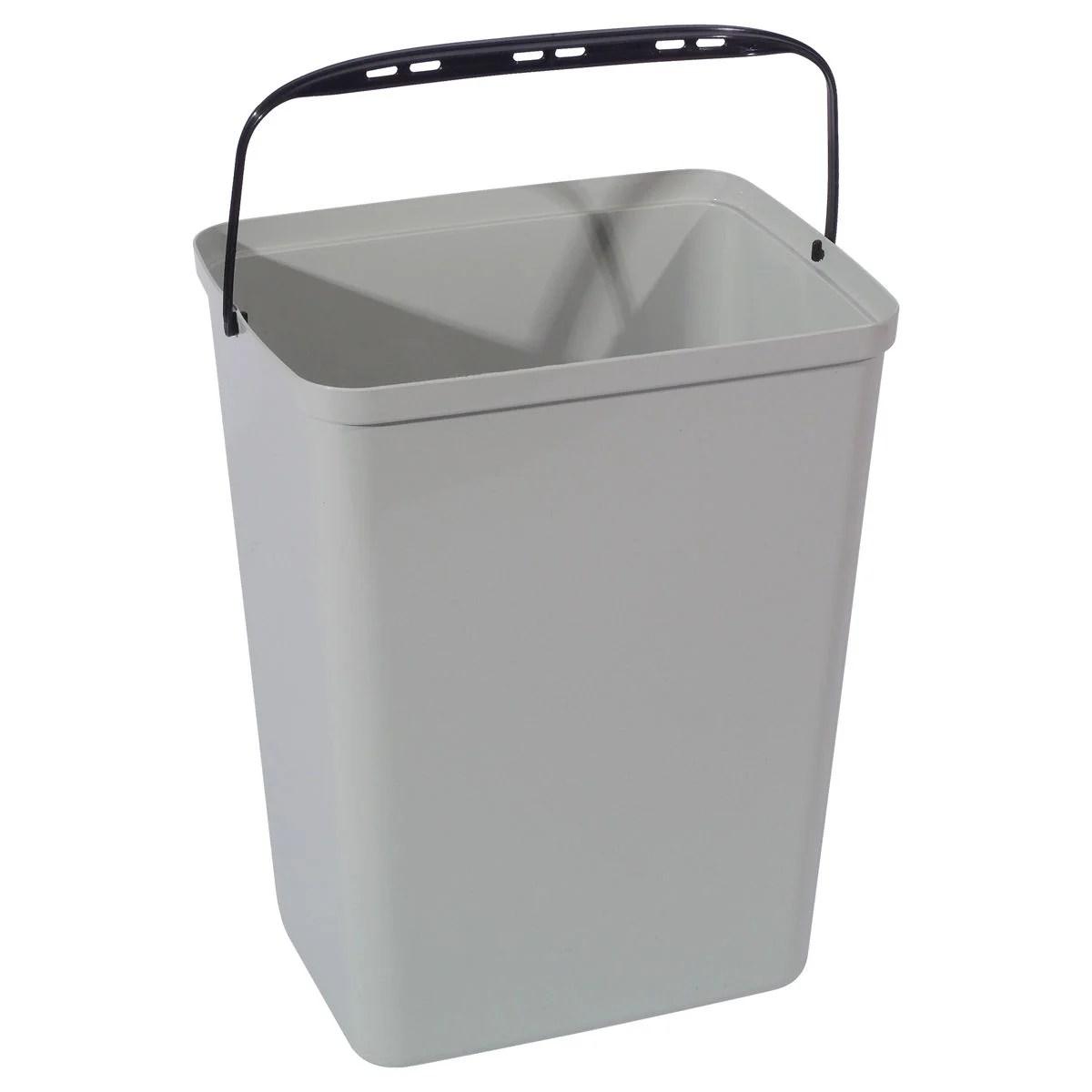 Kit de cuatro cubos para reciclaje  Disset Odiseo