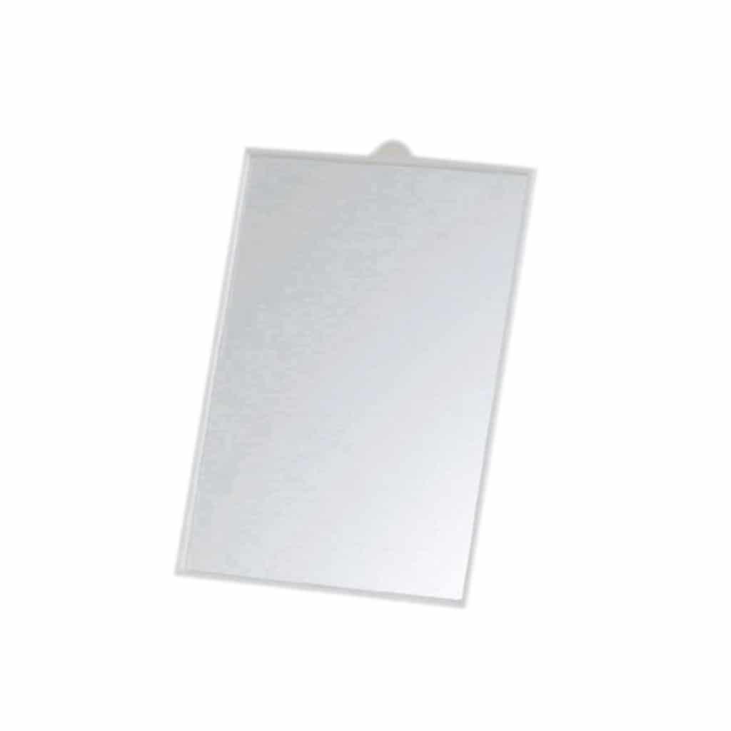 Miroir 14x21cm Avec Fixation Murale Chevalet