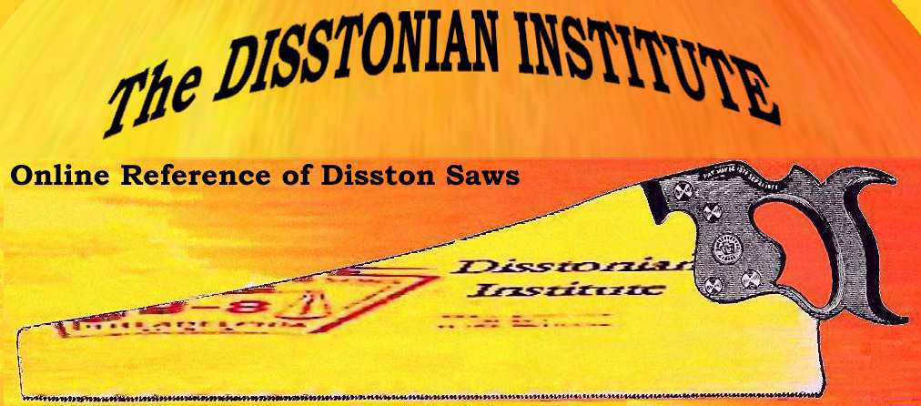 Disston Saw Works History