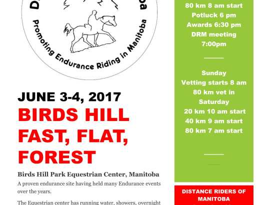 Birds Hill June 3-4, 2017
