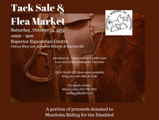 Tack Sale Report  - Maura Leahy