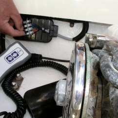 Solenoid Wiring Diagram Trailer Socket 7 Pins Anchor Chain Counter And Control At Helm | Sailing Blog - Technical Hints Tips ...