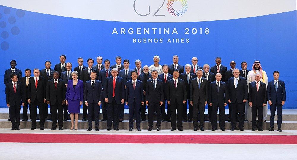 Dış Ticaret Örgütleri - G20 için toplanmış; küresel dış ticaretin liderleri.