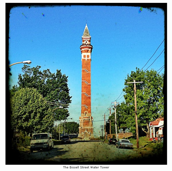 The Bissell Street Water Tower