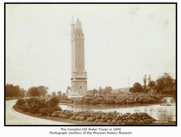The Compton Hill Water Tower in 1890