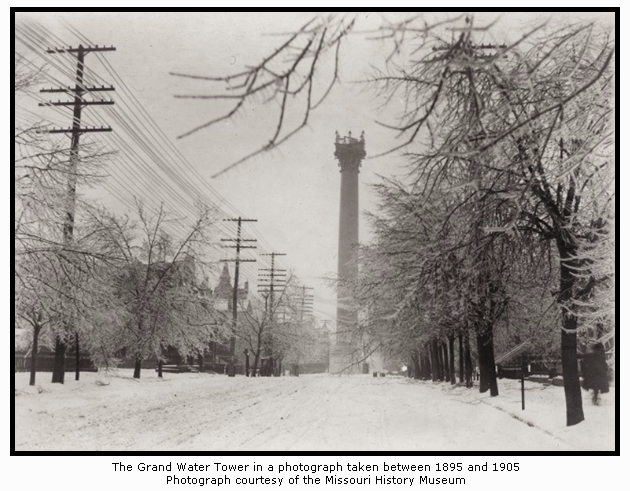 The Grand Avenue Water Tower