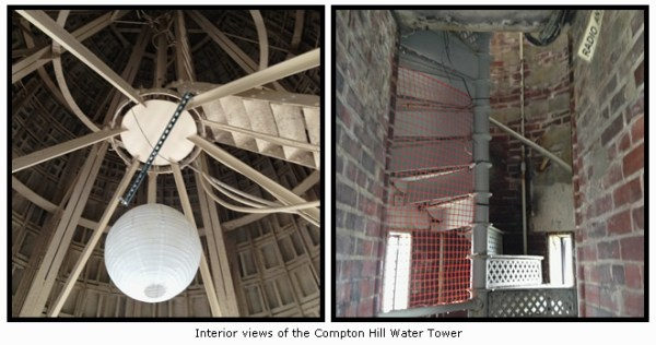 Interior Views of the Compton Hill Water Tower