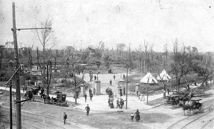 1896 Tornado Damage