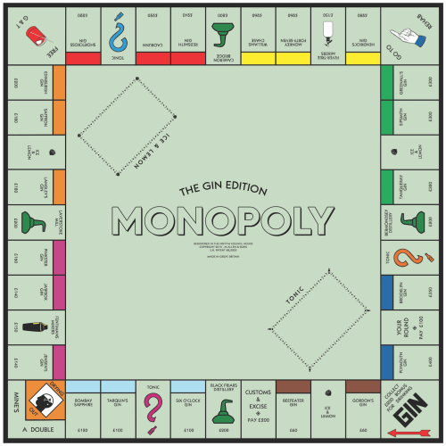 small resolution of the gin monopoly board