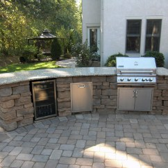 Photos Of Outdoor Kitchens And Bars Wallpaper For Kitchen Backsplash This Living Space Comes