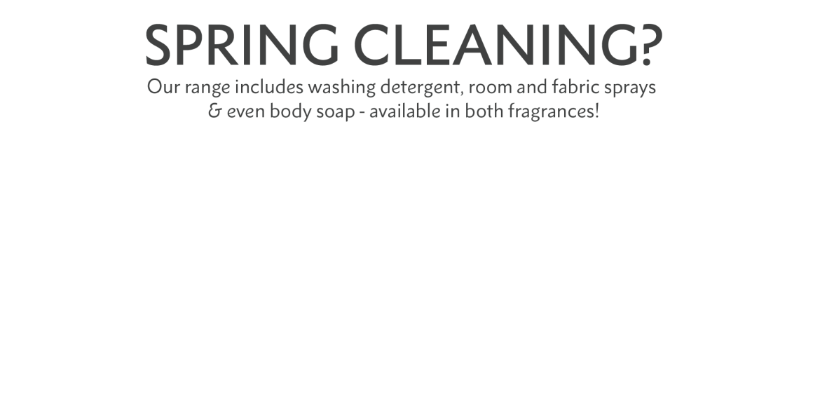 spring cleaning?