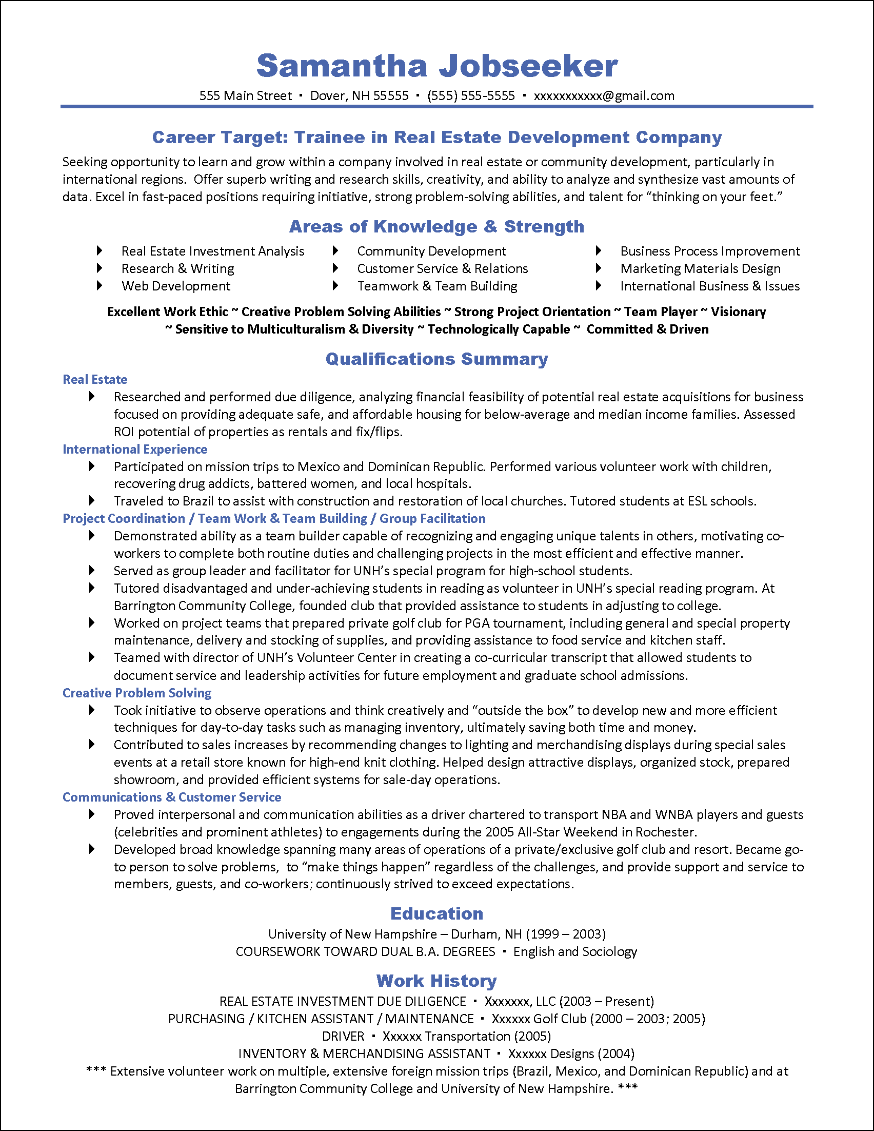 How To Write A Targeted Resume