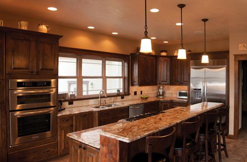 Montana Home  Interior Kitchen Designs  Distinctly