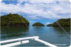 Islotes cerca del Barangay Caub