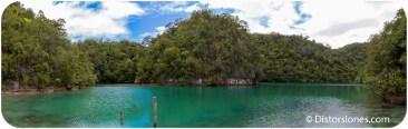 Lago Sugba en la isla de Kangbangyo