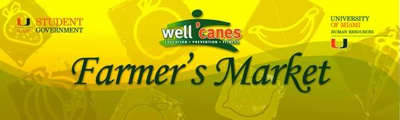 Well 'Canes Farmer's Market