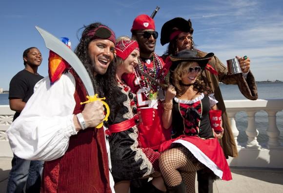 FL: Buccaneers 2012 Gasparilla