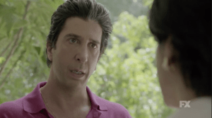 "David Schwimmer plays Robert Kardashian in ""The People vs. O.J. Simpson"" FX"