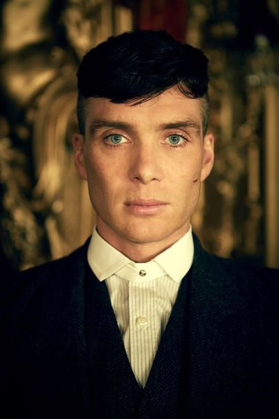 Played by Cillian Murphy, Thomas Shelby is the leader of the Birmingham criminal gang Peaky Blinders and the patriarch of the Shelby Family. Source: Imgur.com.