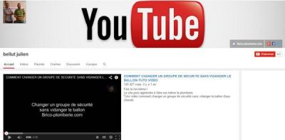 Top 5 chaines you tube bricolage Julien Bellut
