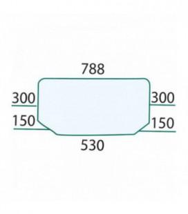 PARE BRISE FIXE ADAPTABLE RENAULT CLAAS 6005028926