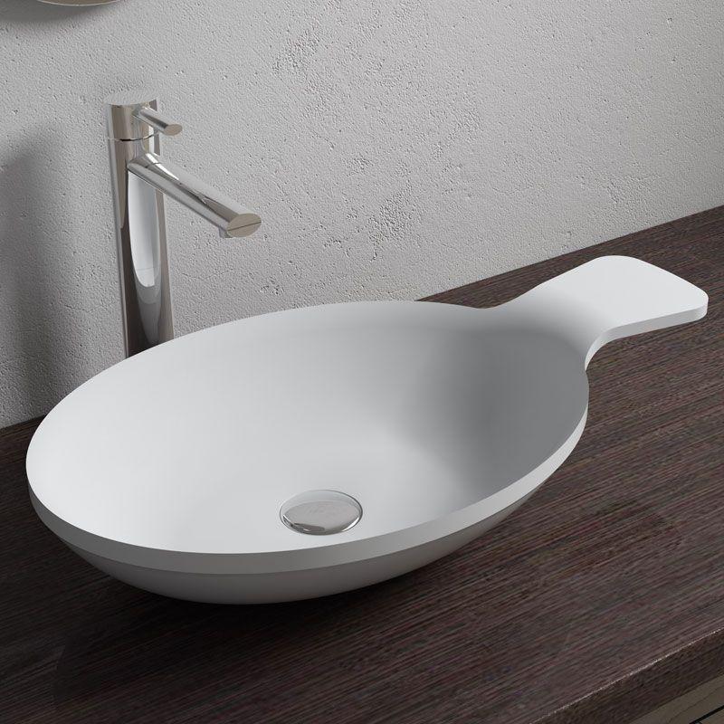 Vasque Lavabo Ovale A Poser Vasque Ovale Design Vasque Ovale En Solid Surface Sdv11