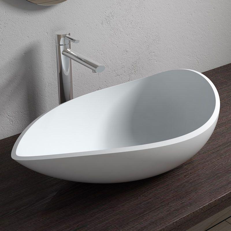 Vasque De Salle De Bain A Poser En Solid Surface Vasque A Poser Pour Salle De Bain Sdv20