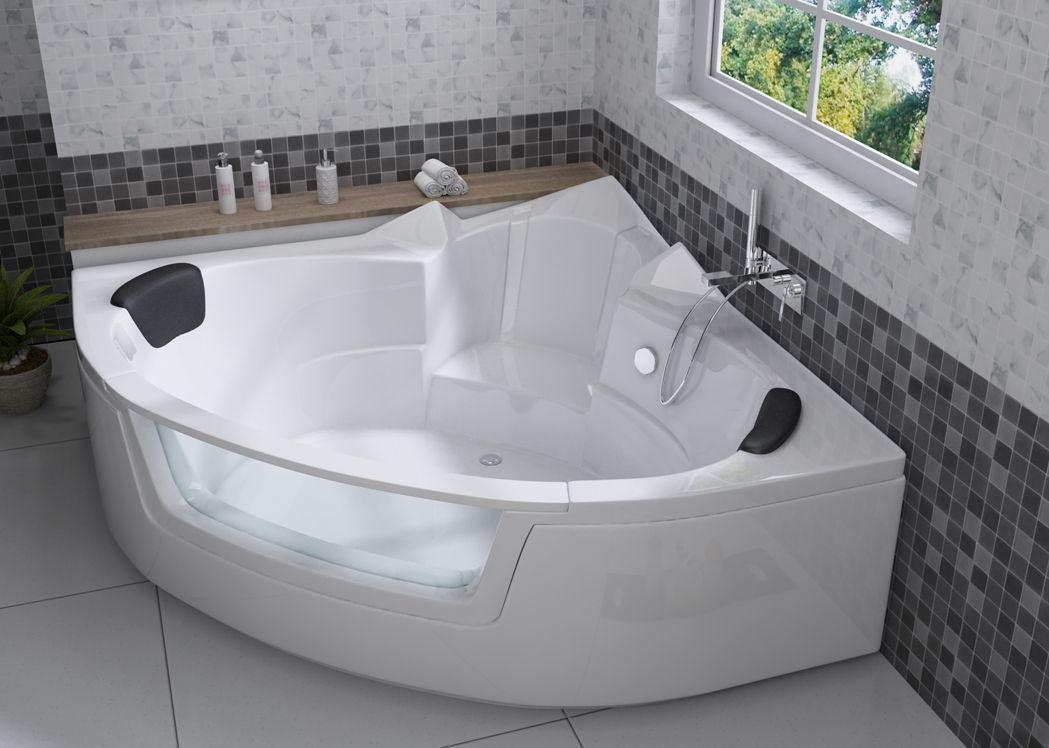 baignoire d angle gain de place
