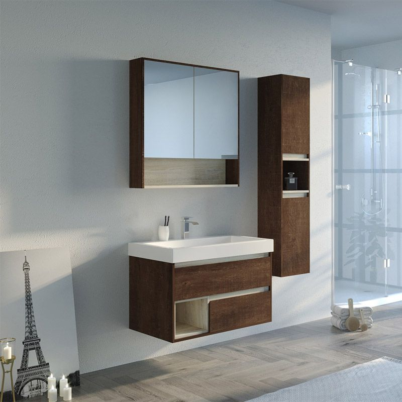 meuble de salle de bain anzio 800