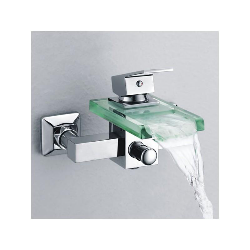 Robinet cascade mural SDS001C robinet cascade mural pour baignoire  Distribain