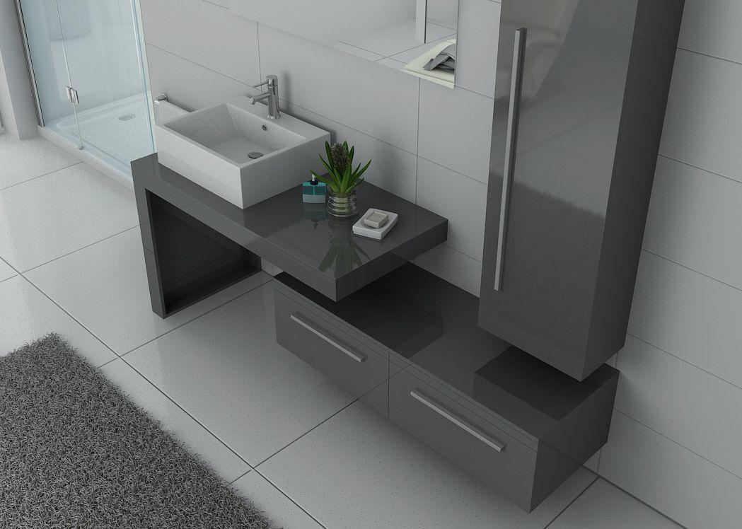 Meuble Simple Vasque Design DIS9250 Meuble Simple Vasque