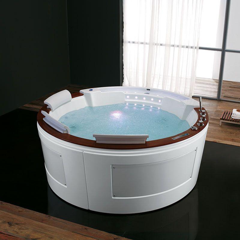 baignoire ronde balneo baignoire 3 places avec tablier baignoire ronde balneo tenggara distribain