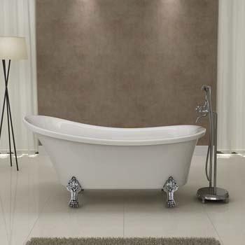 installer une baignoire ilot