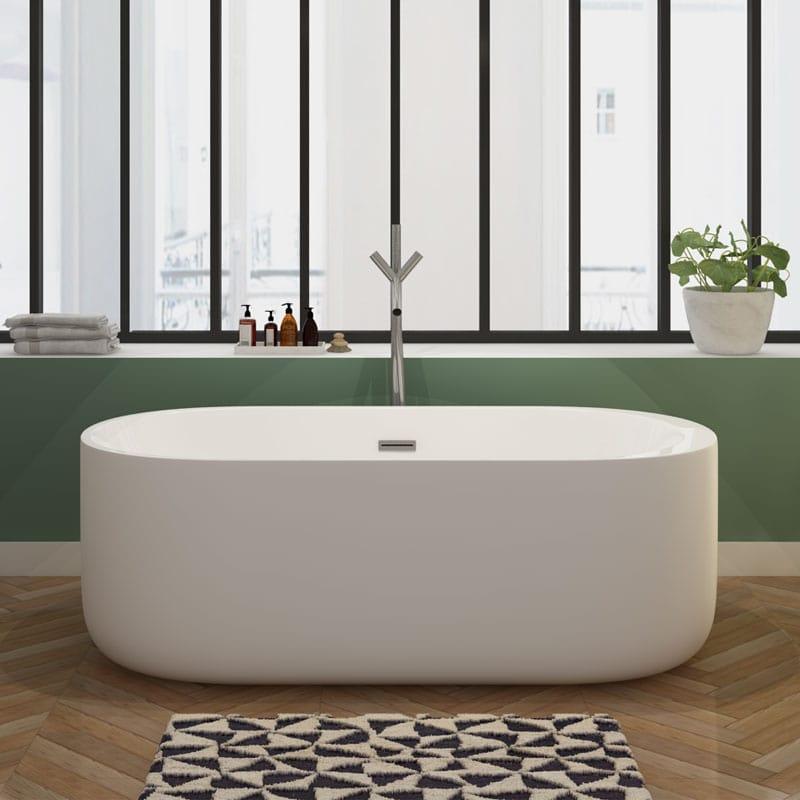 la baignoire ilot sublime votre salle