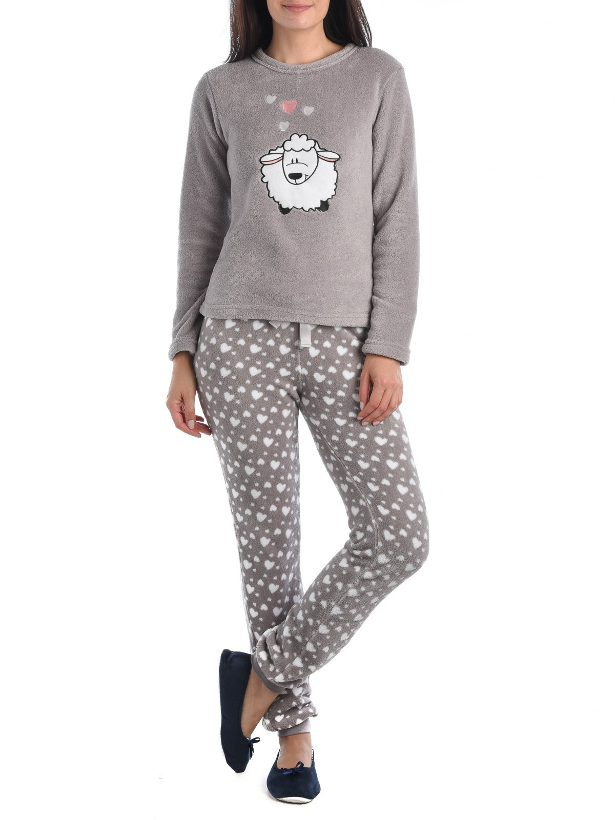 Pyjama polaire femme  DistriCenter