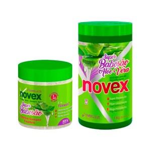 Novex Super Babosa Kit Tratamiento 1k y Gelatina 500gr