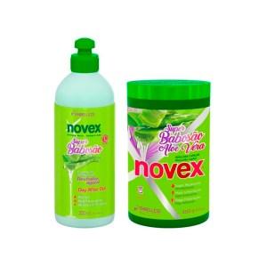 Novex Super Babosa Kit Tratamiento 400gr y Day After Gel 300ml