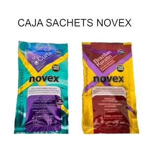 Caja Sachets Novex Blindagem Y Keratina X 3