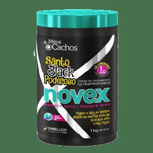 Novex Tratamiento Santo Black 1k