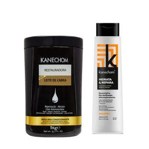 Kit Kanechom Leche de Cabra y Shampoo Hidrata y Repara
