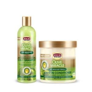 African Pride Olive Miracle Kit