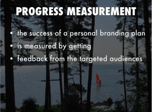 personal branding progress measurement